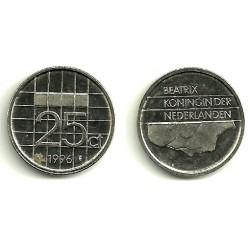(204) Países Bajos. 1996. 25 Cents (MBC)