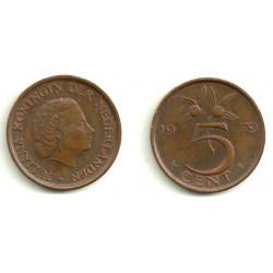 (181) Países Bajos. 1979. 5 Cents (MBC)