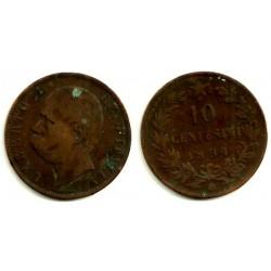 Italia. 1894. 10 Centesimi (BC)