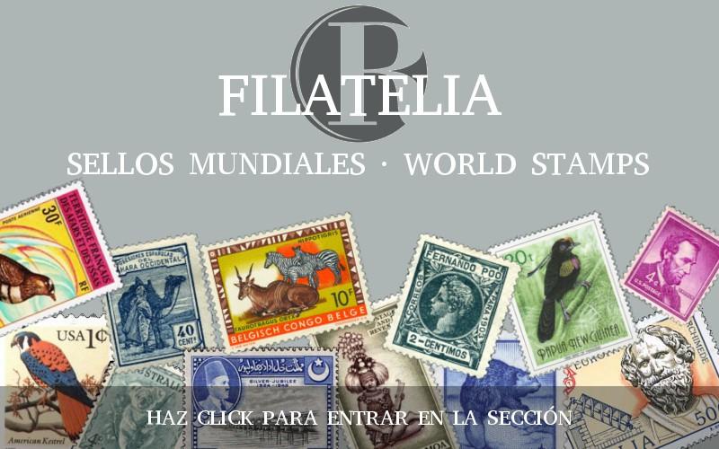 FILATELIA. SELLOS MUNDIALES