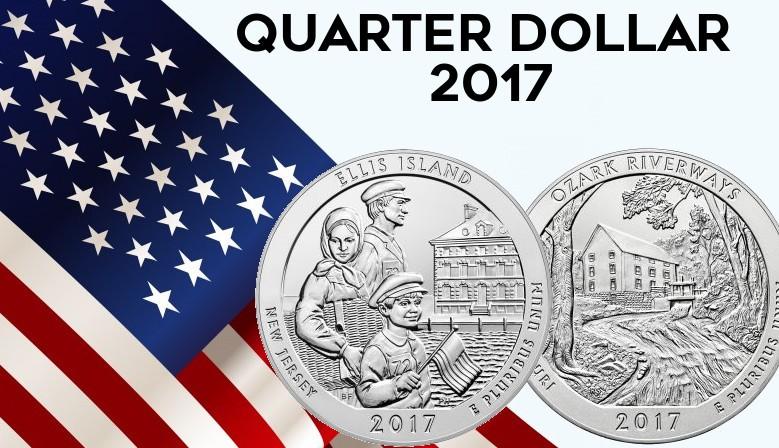 QUARTERS DOLLAR 2017