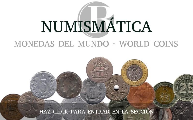 NUMISMÁTICA. MONEDAS DEL MUNDO