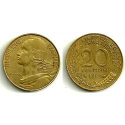 (930) Francia. 1994. 20 Centimes (MBC)