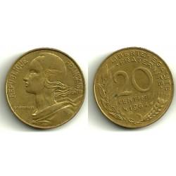 (930) Francia. 1984. 20 Centimes (MBC)