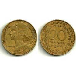 (930) Francia. 1963. 20 Centimes (BC)