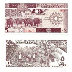 (31c) Somalia. 1987. 5 Shillings (SC)