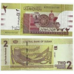 Sudán. 2011. 2 Pounds (SC)