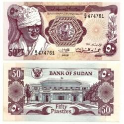 (17) Sudán. 1981. 50 Piastres (SC)