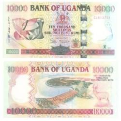 (41) Uganda. 2003. 10000 Shillings (SC)