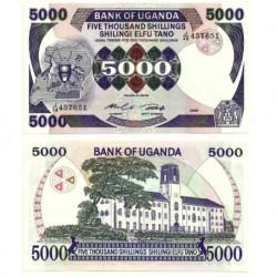 (24a) Uganda. 1986. 5000 Shilingi (SC)