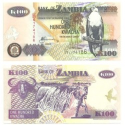 (38f) Zambia. 2006. 100 Kwacha (SC)