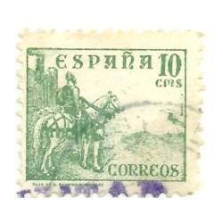 (817)  1937-40. 10 Céntimos. Cid (Usado)