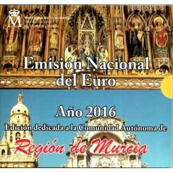 España 2016 Cartera Oficial (Región de Murcia)