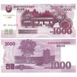 Corea del Norte. 2012. 1000 Won (SC)