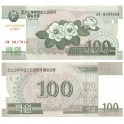 Corea del Norte. 2008. 100 Won (SC)