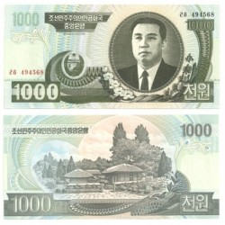 (45b) Corea del Norte. 2006. 1000 Won (SC)