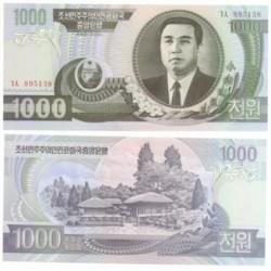 (45a) Corea del Norte. 2002. 1000 Won (SC)