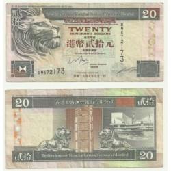 (201.c) Hong Kong. 1997. 20 Dollars (BC)