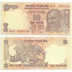 India. 2011. 10 Rupees (SC)