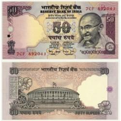 (90d) India. 1997. 50 Rupees (SC)