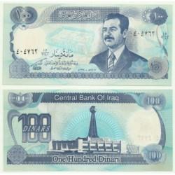 (84) Iraq. 1994. 100 Dinars (SC)