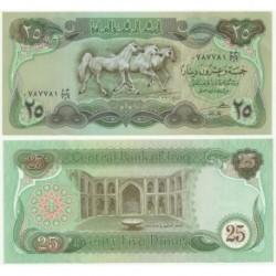 (72) Iraq. 1980. 25 Dinars (SC)