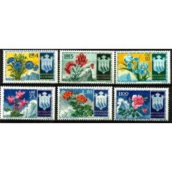 San Marino. Serie Flores