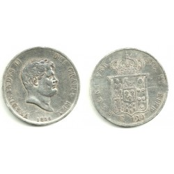 (C153c) Estados Italianos. Nápoles y Sicilia. 1856. 120 Grana (BC) (Plata)
