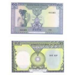 (10b) Laos. 10 Kip (SC)