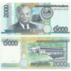 Laos. 2011. 2000 Kip (SC)