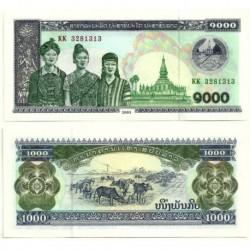 (32Ab) Laos. 2003. 1000 Kip (SC)
