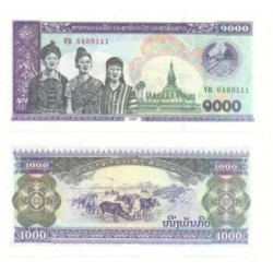 (32Aa) Laos. 1998. 1000 Kip (SC)