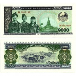 (32d) Laos. 1996. 1000 Kip (SC)