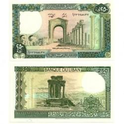 (67e) Líbano. 1988. 250 Pounds (SC)