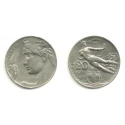 (44) Italia. 1921. 20 Centesimi (EBC)