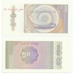 (68) Myanmar. 1994. 50 Pyas (SC)