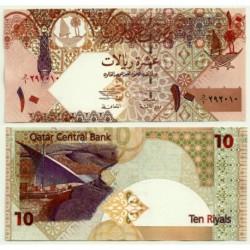 (22) Qatar. 2003. 10 Riyals (SC)