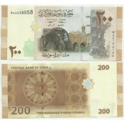 Siria. 2009. 200 Pounds (SC)