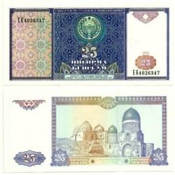 (77) Uzbekistán. 1994. 25 Sum (SC)