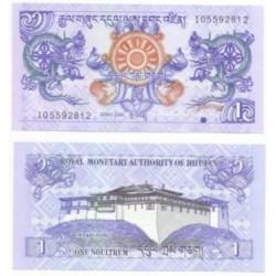 (27a) Bhutan. 2006. 1 Ngultrum (SC)