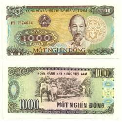 (106a) Vietnam. 1988. 1000 Dong (SC)