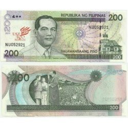 Filipinas. 2011. 200 Piso (SC)