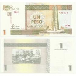Cuba. 2007. 1 Peso (EBC)