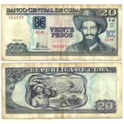 Cuba. 2004. 20 Pesos (RC)