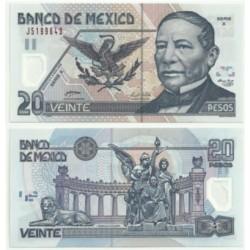 Estados Unidos Mexicanos. 2005. 20 Pesos (SC)
