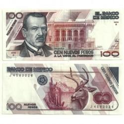 (98) Estados Unidos Mexicanos. 1992. 100 Pesos (EBC)