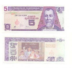 Guatemala. 2006. 5 Quetzales (SC)