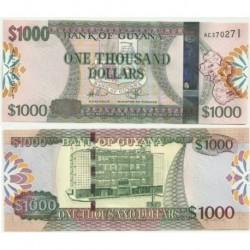 Guyana. 1000 Dollars (SC)