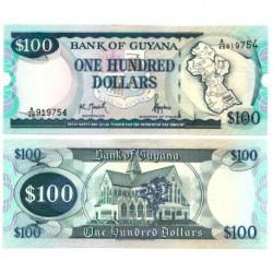 (31) Guyana. 1999. 100 Dollars (SC)