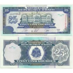 (266.a) Haití. 2000. 25 Gourdes (SC)